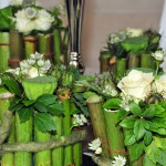 Beständigkeit und Kreativität: Weiße Rosen zu den Festen.