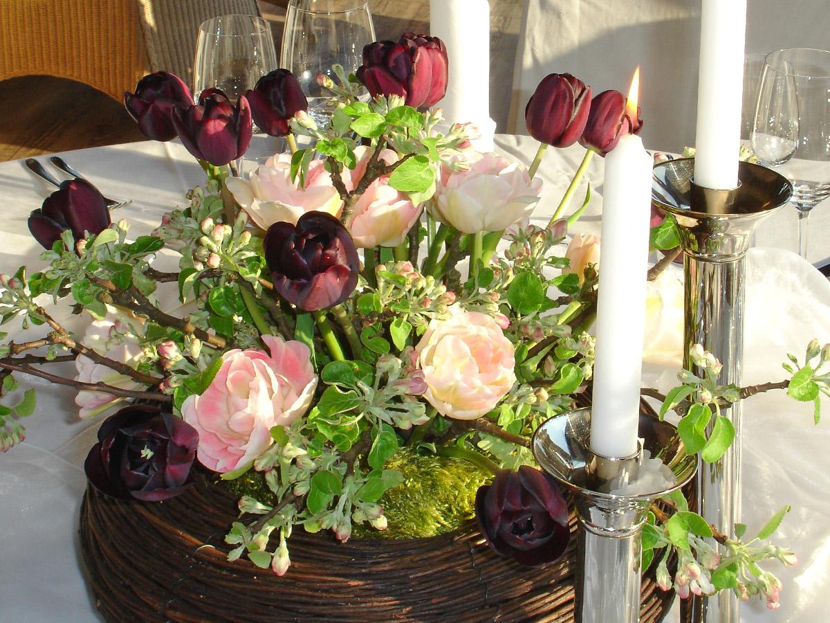 Seltene Frühblüher: Schwarze Tulpen bedeuten Leidenschaft.