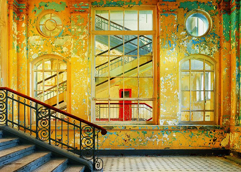 »Die rote Tür«, Fotografie von Hassan J. Richter, 2010.