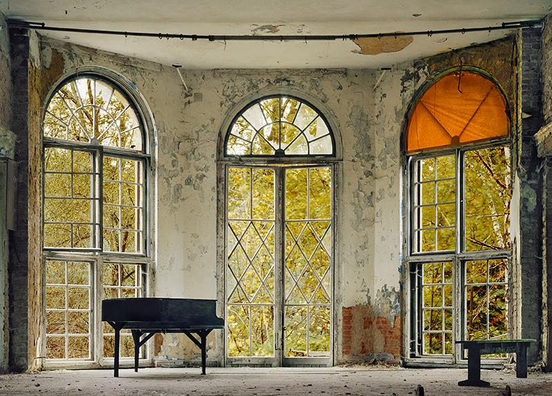 »Konzertpause II«, Fotografie von Hassan J. Richter, 2010.