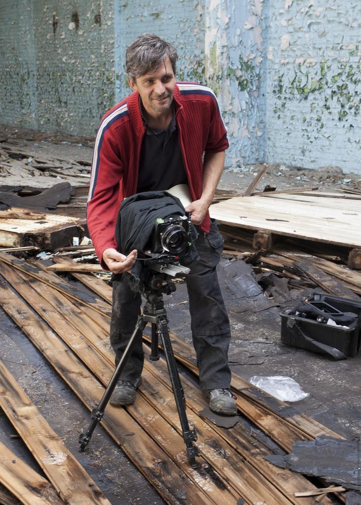 Hassan J. Richter, Künstler und professioneller Fotograf.