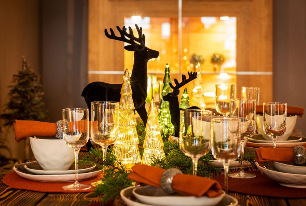 Glänzende Ideen in unserer Weihnachtswelt 2020. © Rosendomizil